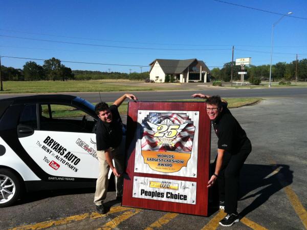 MAIN MENU - Unique car show awards